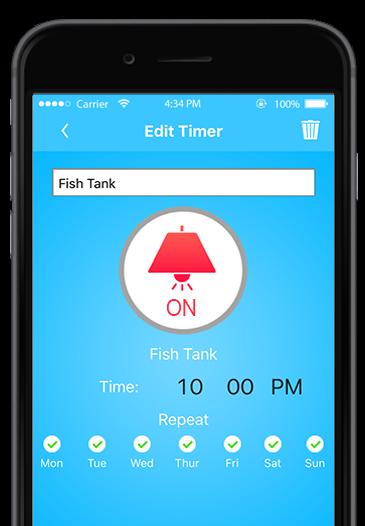 Timer app screen